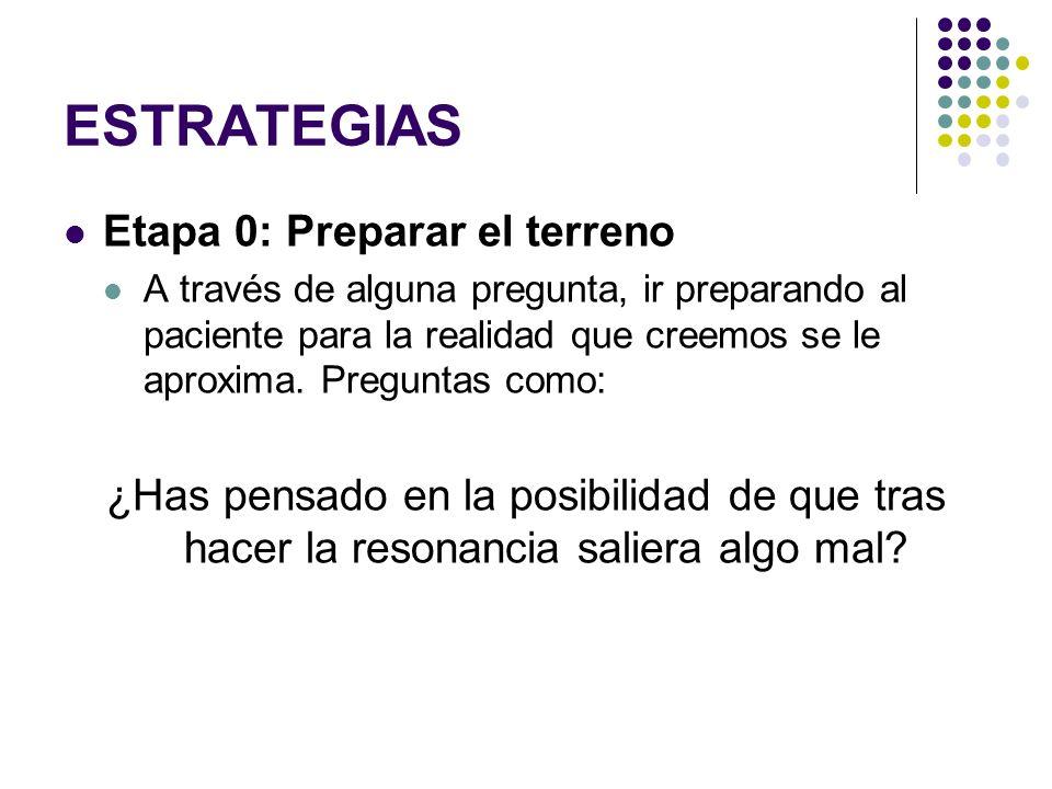 ESTRATEGIAS Etapa 0: Preparar el terreno