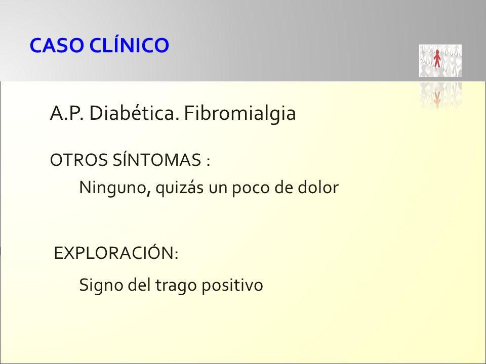 A.P. Diabética. Fibromialgia