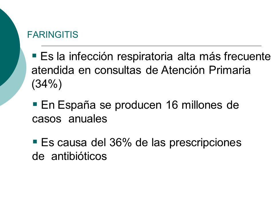En España se producen 16 millones de casos anuales