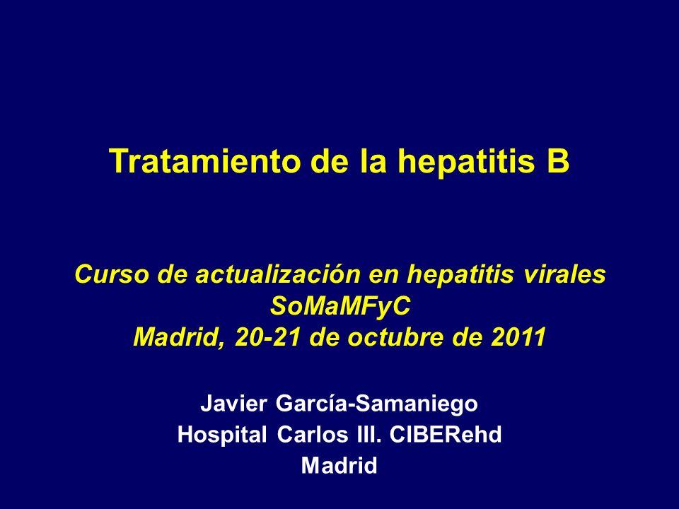 Curso de actualización en hepatitis virales