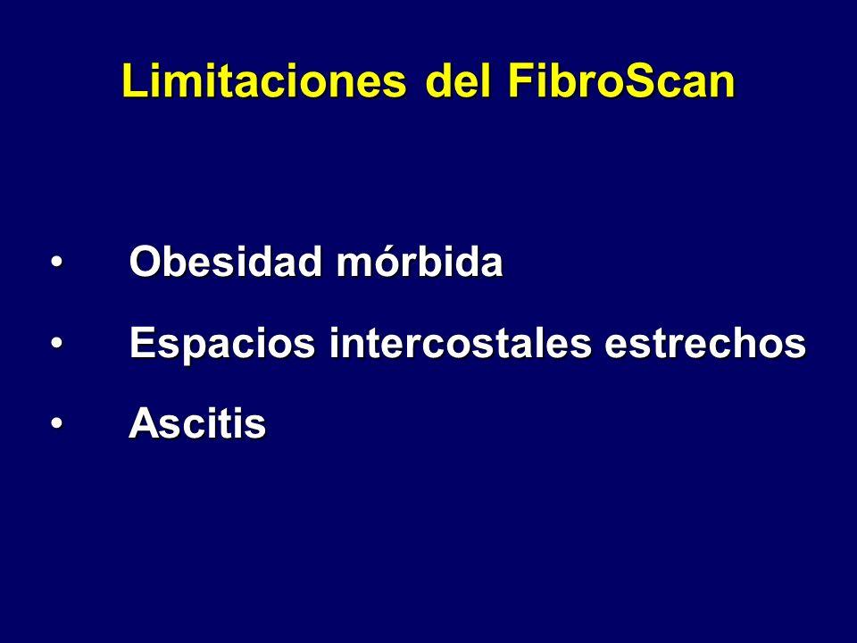 Limitaciones del FibroScan