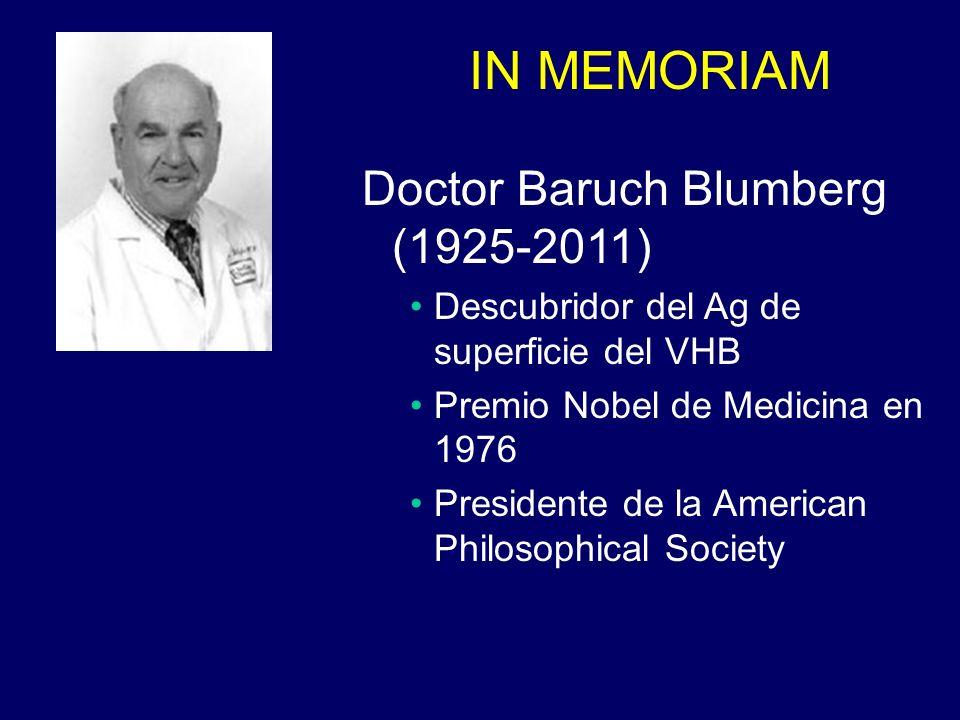 Doctor Baruch Blumberg (1925-2011)