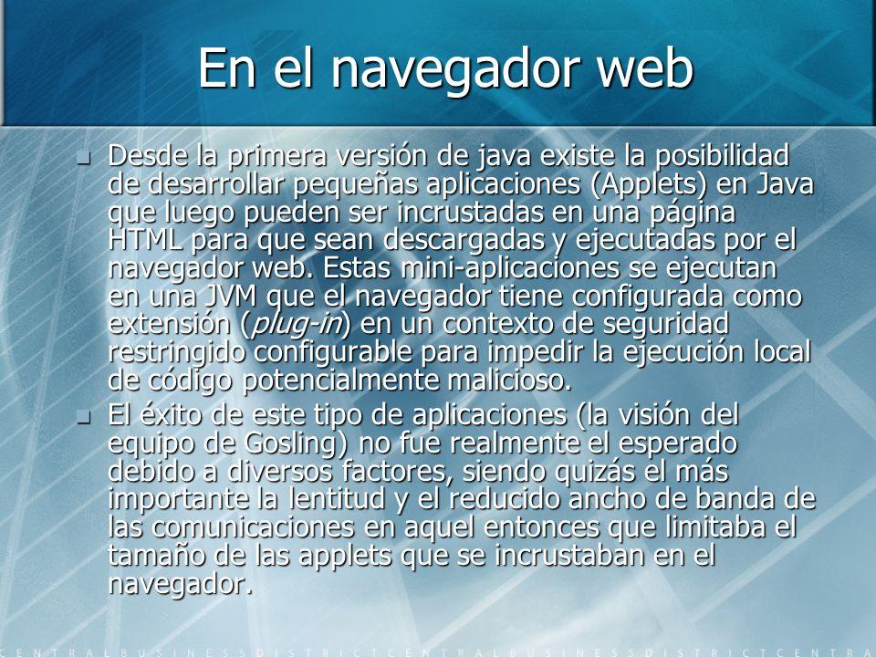 En el navegador web