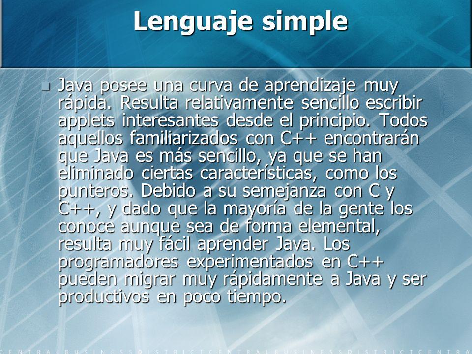 Lenguaje simple