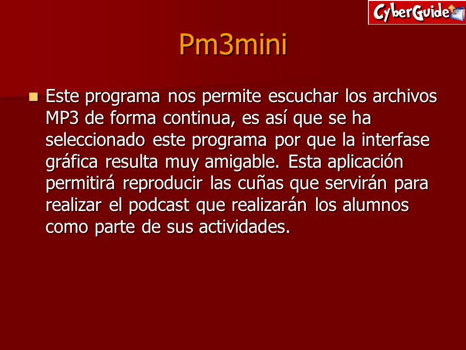 Pm3mini