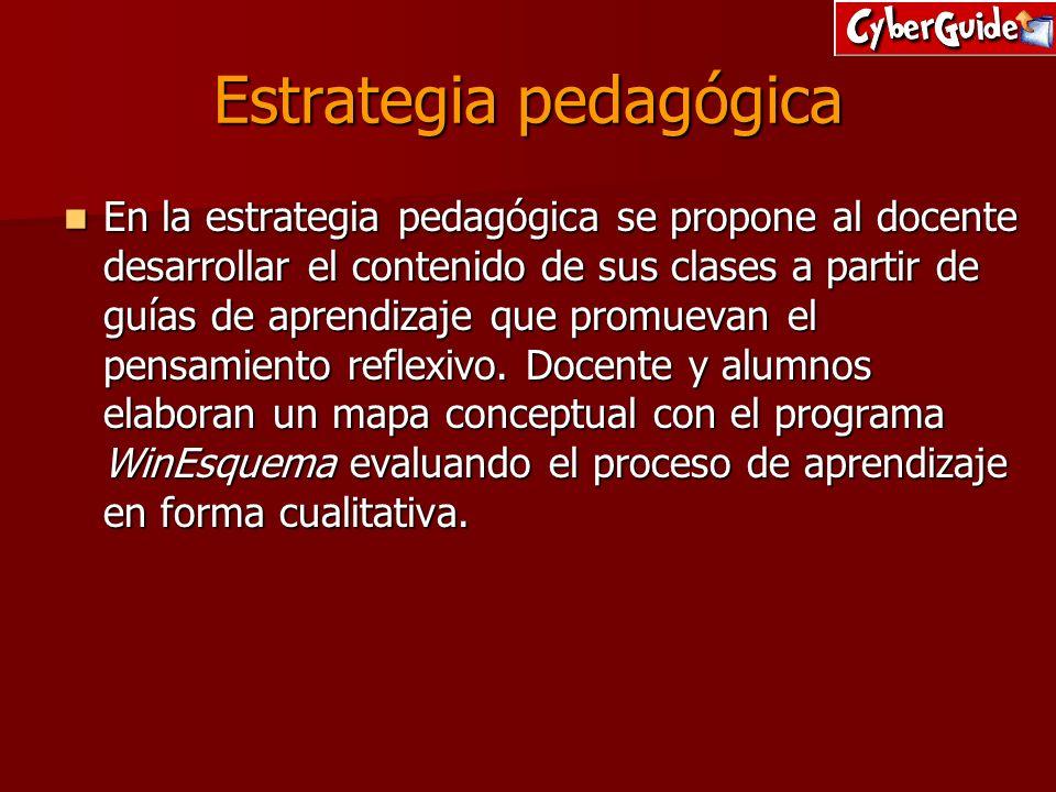 Estrategia pedagógica