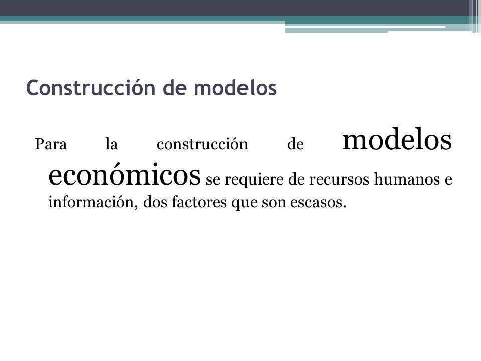 Construcción de modelos