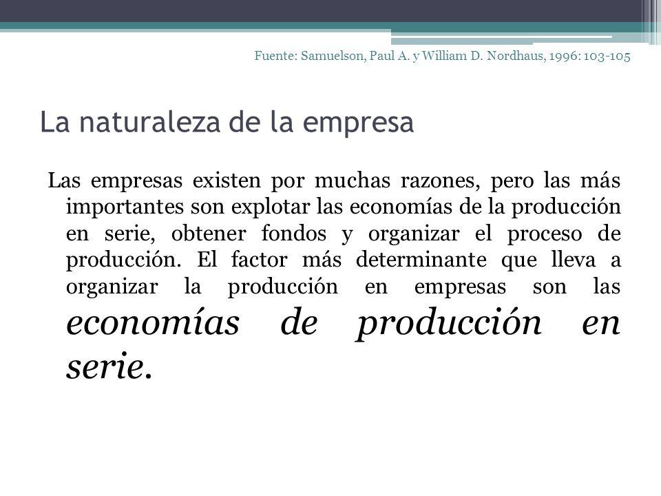 La naturaleza de la empresa