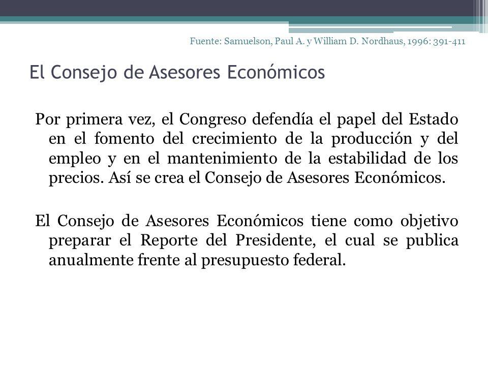 El Consejo de Asesores Económicos