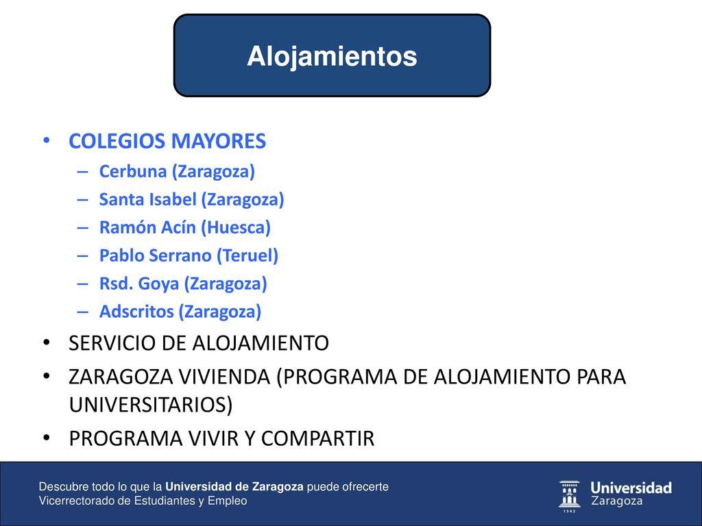 Descubre Todo Lo Que La Universidad De Zaragoza Puede
