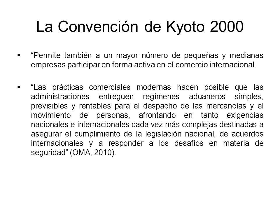 La Convención de Kyoto 2000