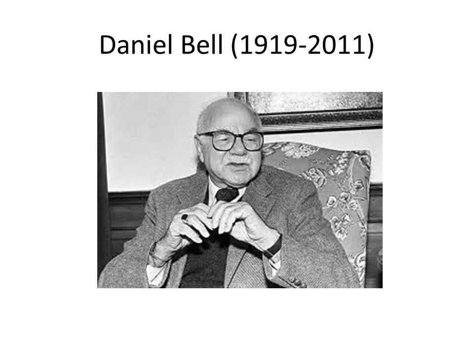 Daniel Bell (1919-2011)