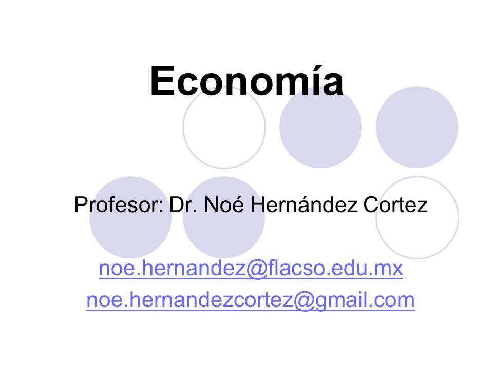 Profesor: Dr. Noé Hernández Cortez