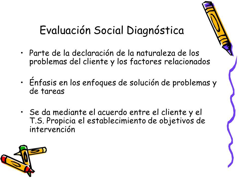 Evaluación Social Diagnóstica