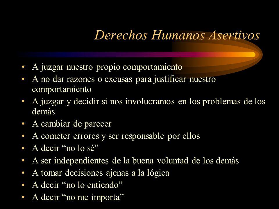 Derechos Humanos Asertivos