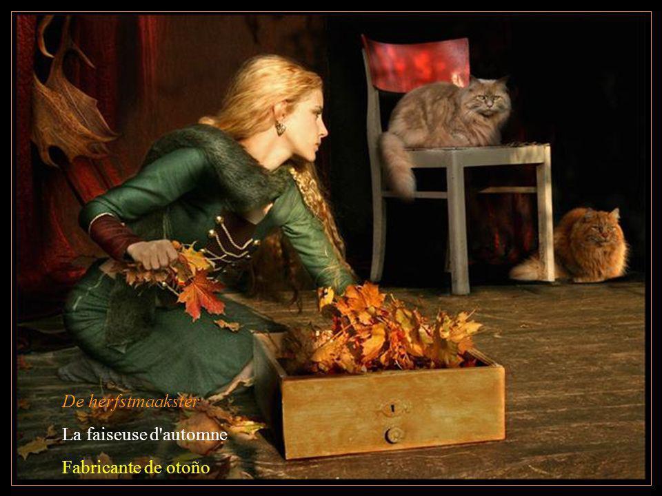 De herfstmaakster La faiseuse d automne Fabricante de otoño