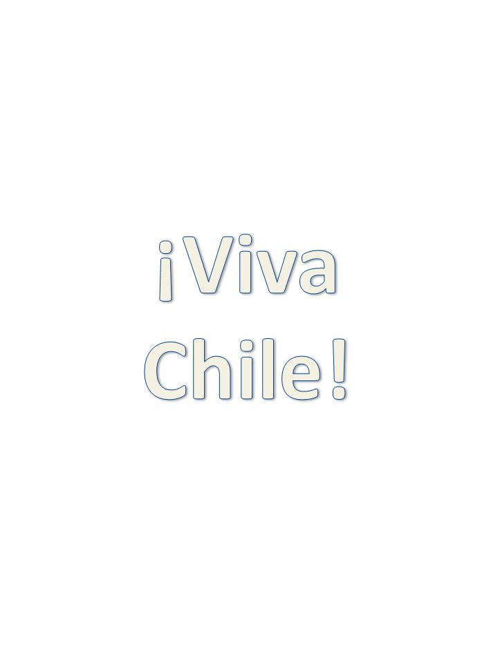 ¡Viva Chile!