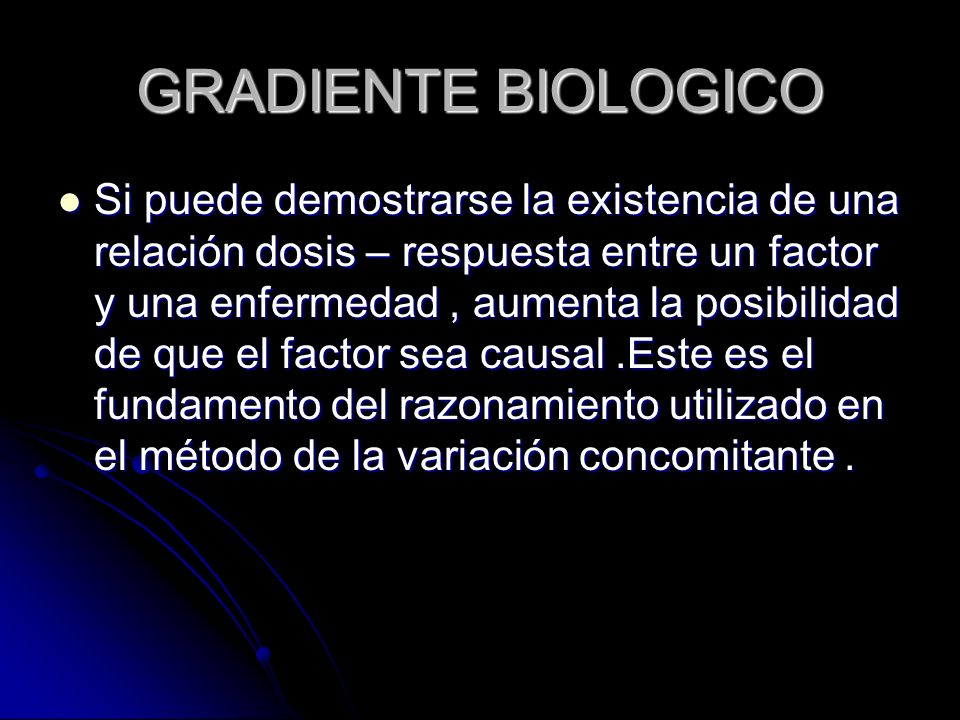 GRADIENTE BIOLOGICO