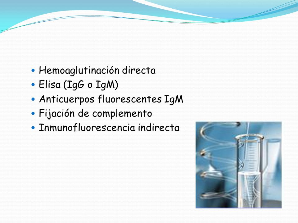 Hemoaglutinación directa