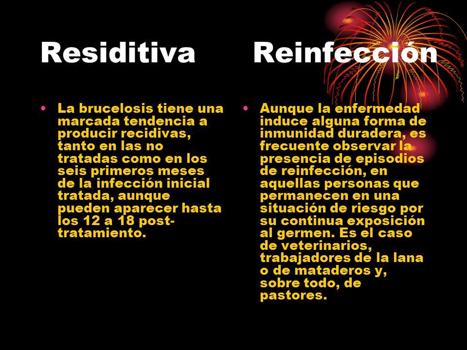 Residitiva Reinfección