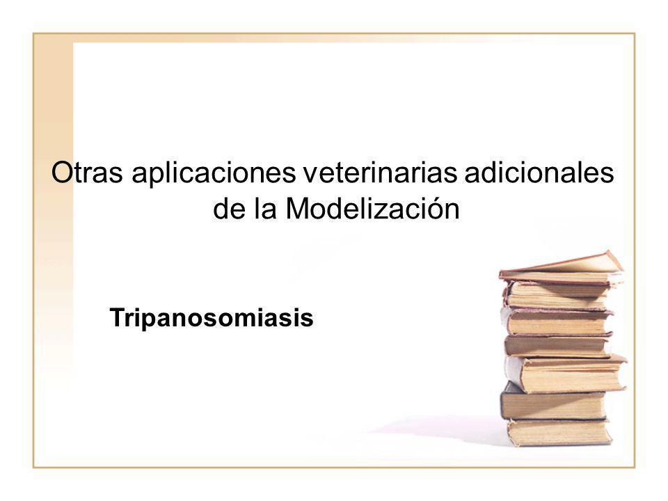Otras aplicaciones veterinarias adicionales
