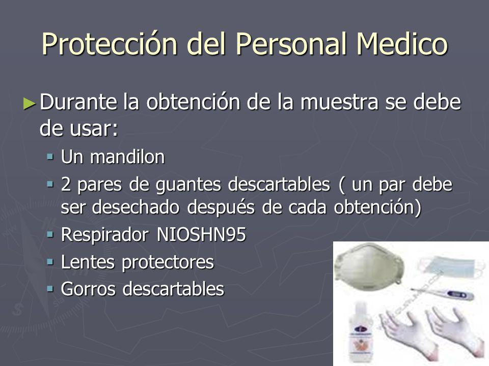 Protección del Personal Medico