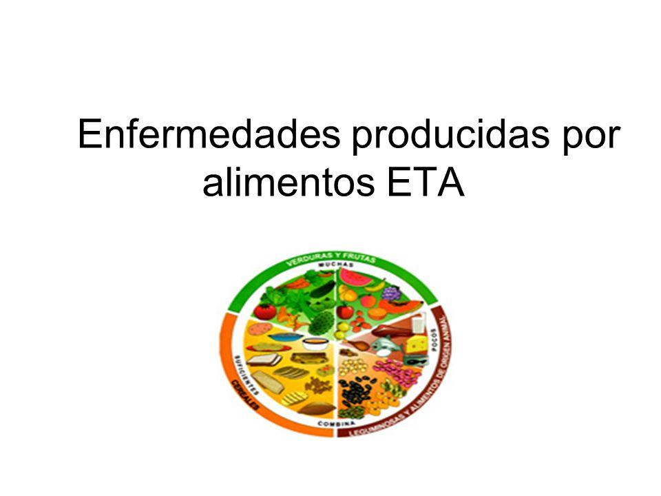 Enfermedades producidas por alimentos ETA