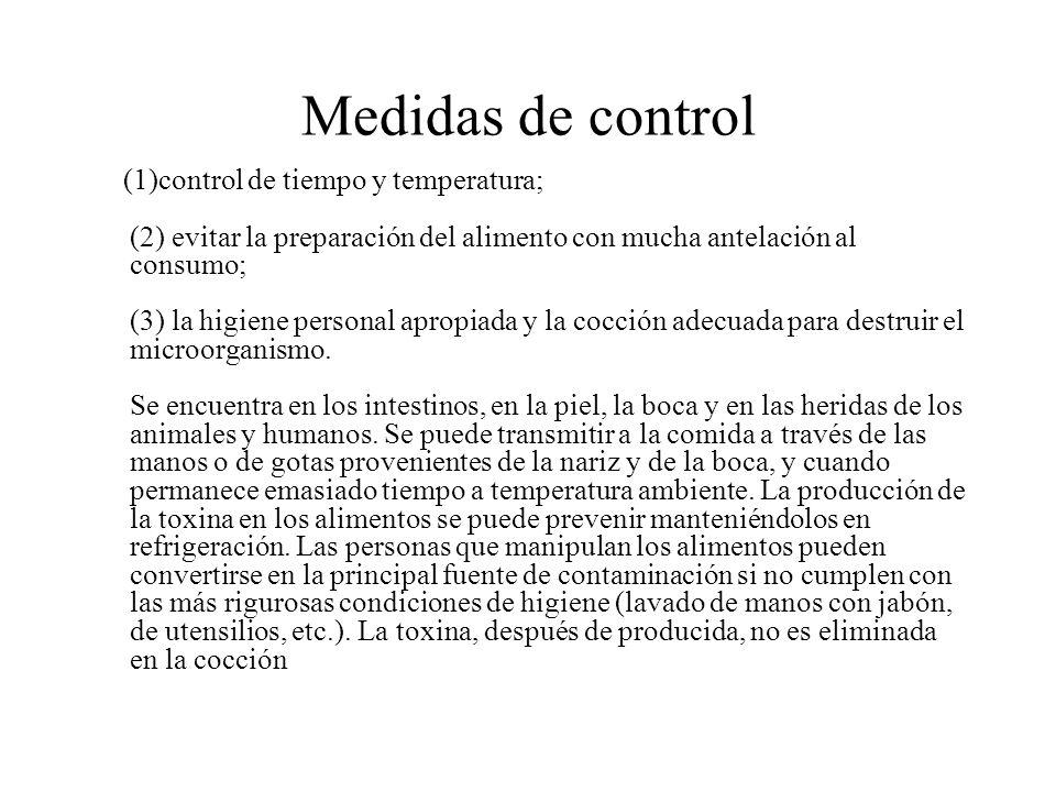 Medidas de control