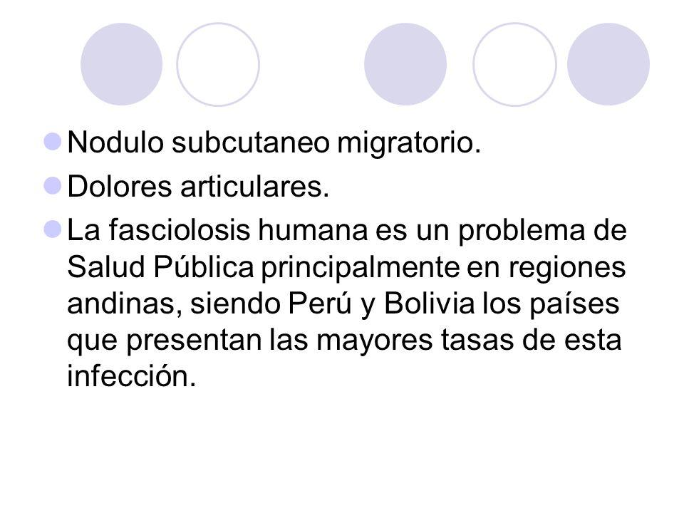 Nodulo subcutaneo migratorio.