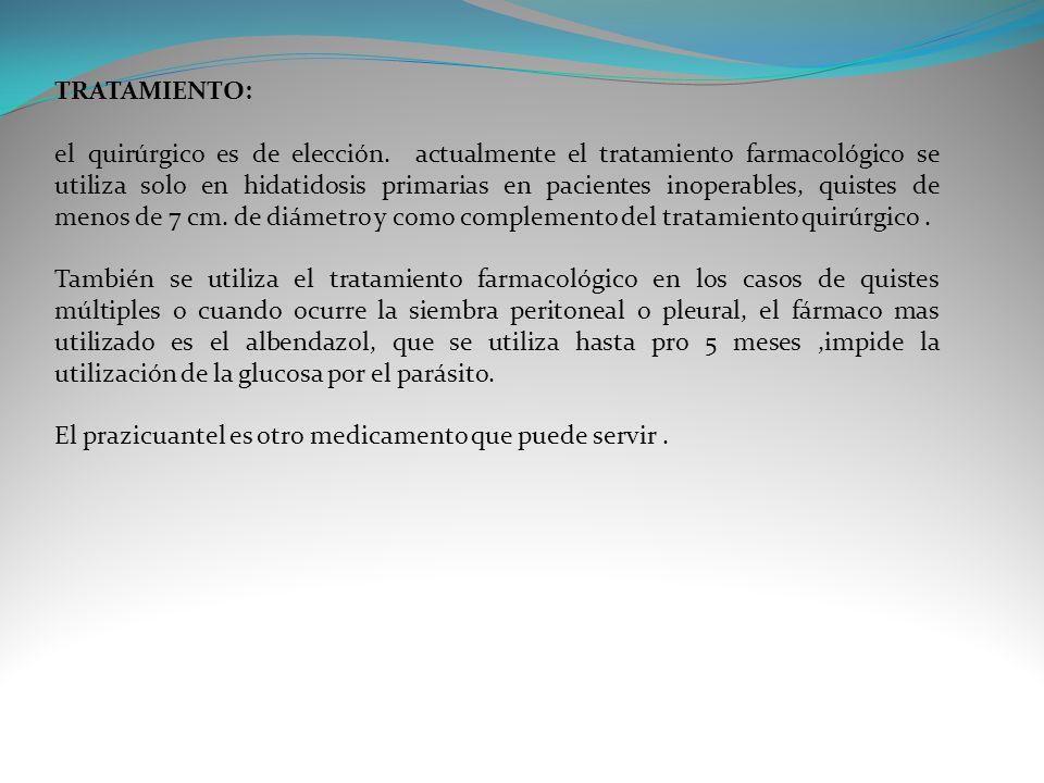 TRATAMIENTO: