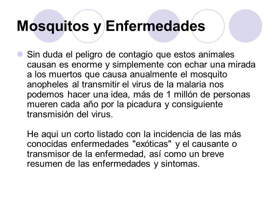 Mosquitos y Enfermedades