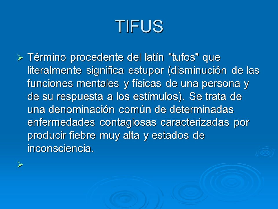 TIFUS