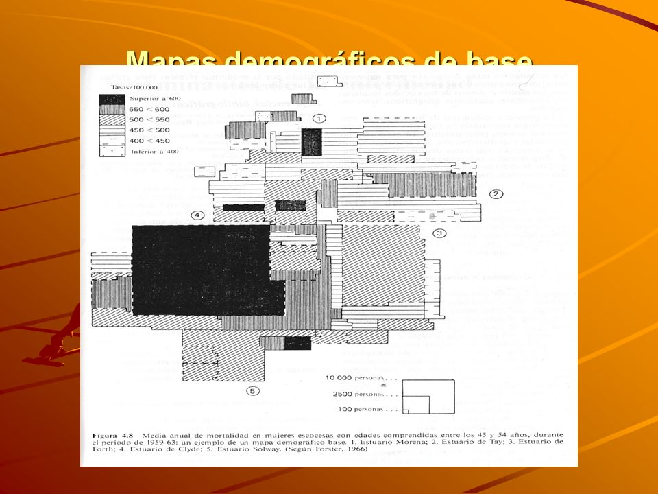 Mapas demográficos de base