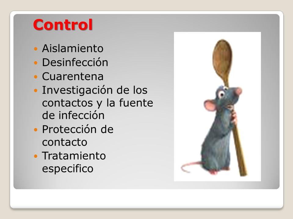 Control Aislamiento Desinfección Cuarentena