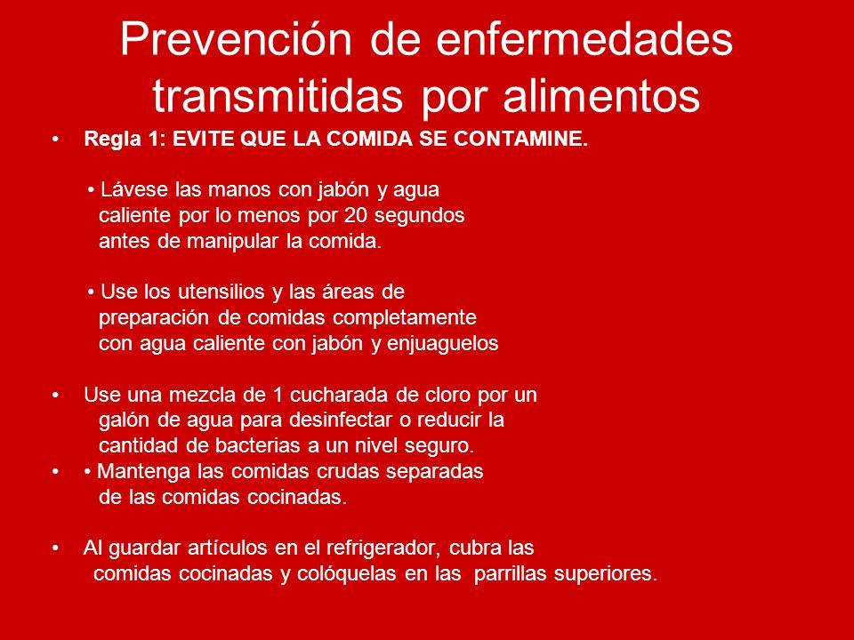 Prevención de enfermedades transmitidas por alimentos