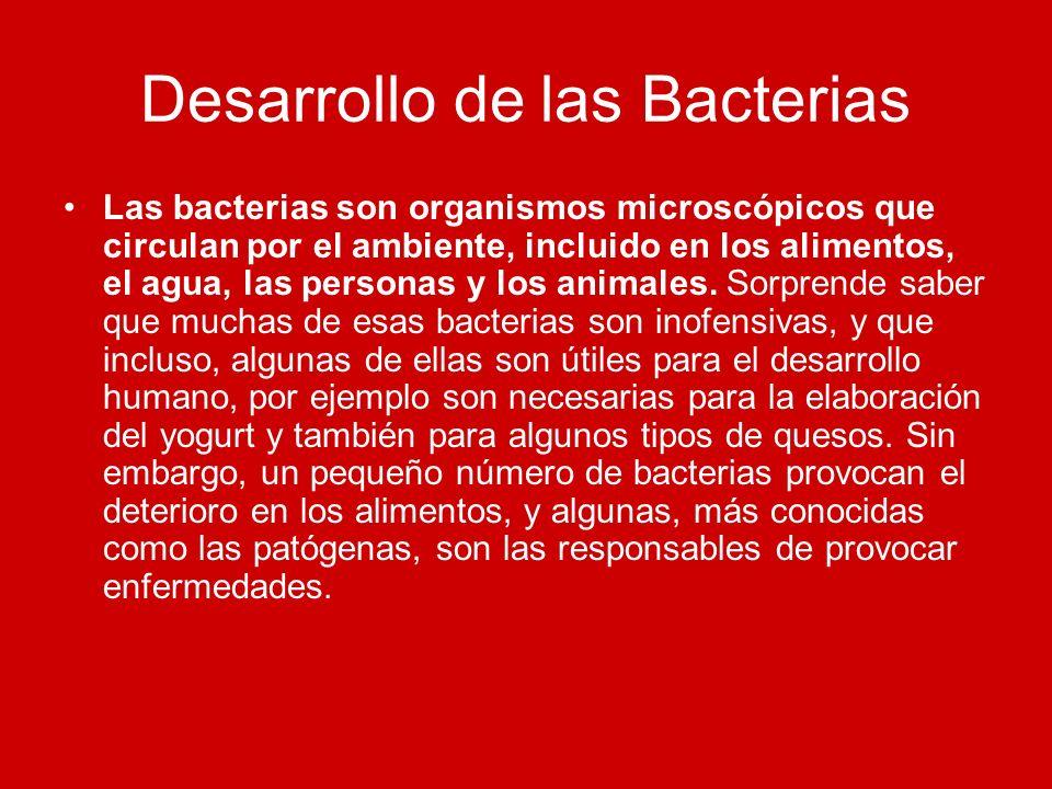 Desarrollo de las Bacterias
