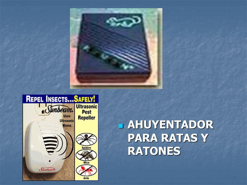 AHUYENTADOR PARA RATAS Y RATONES