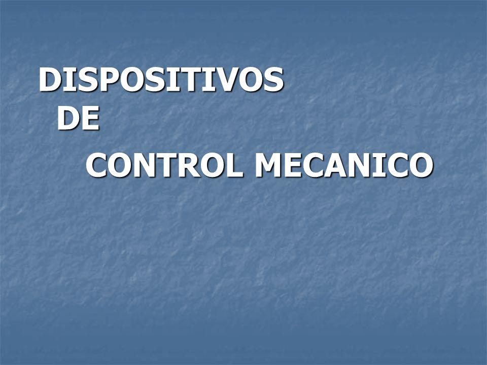 DISPOSITIVOS DE CONTROL MECANICO