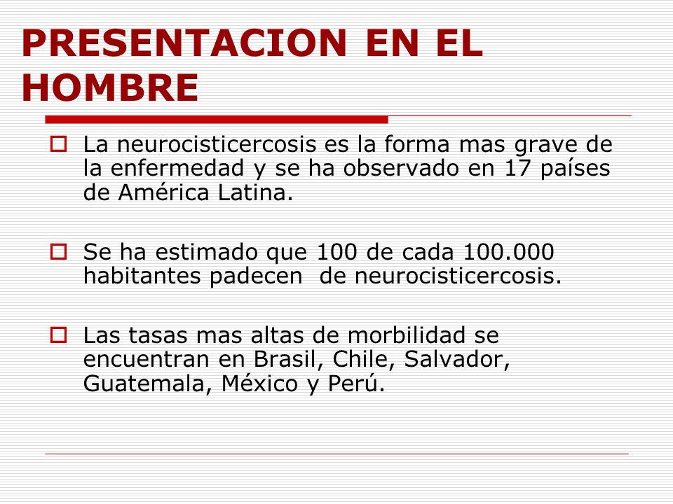 PRESENTACION EN EL HOMBRE