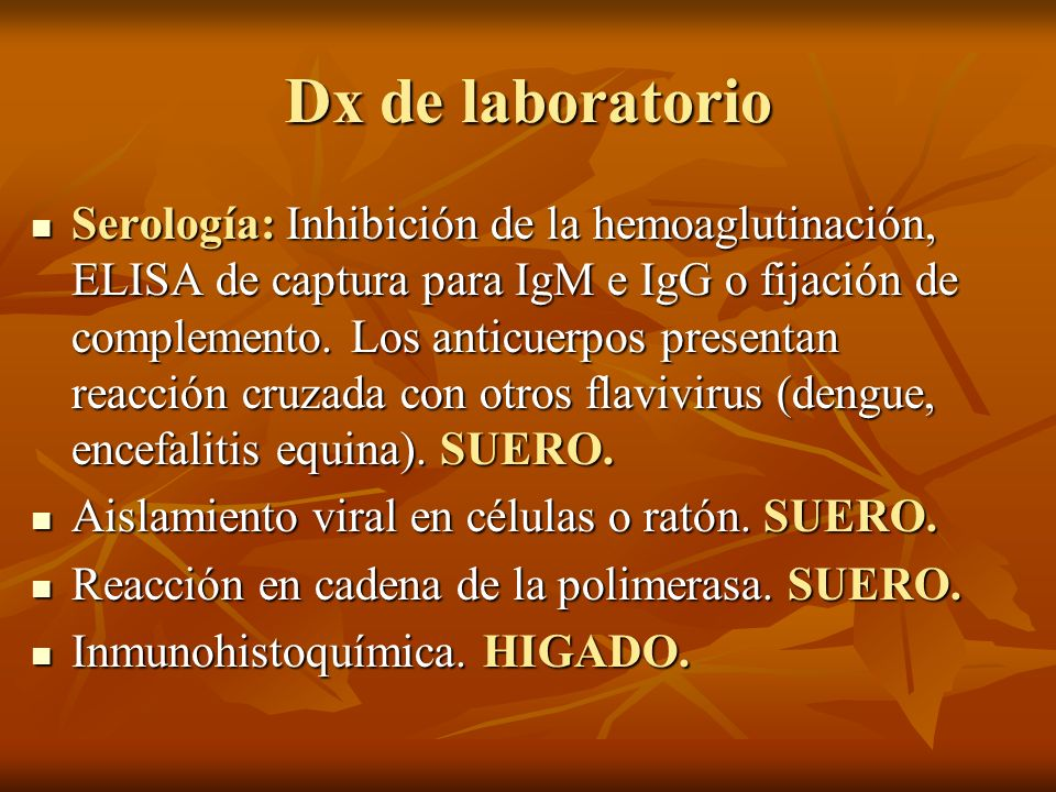 Dx de laboratorio