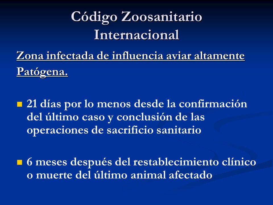 Código Zoosanitario Internacional