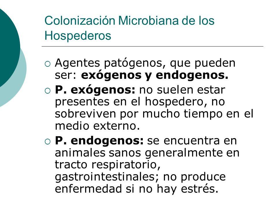 Colonización Microbiana de los Hospederos