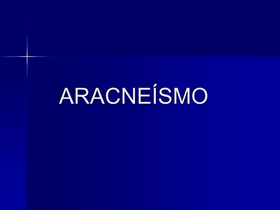 ARACNEÍSMO