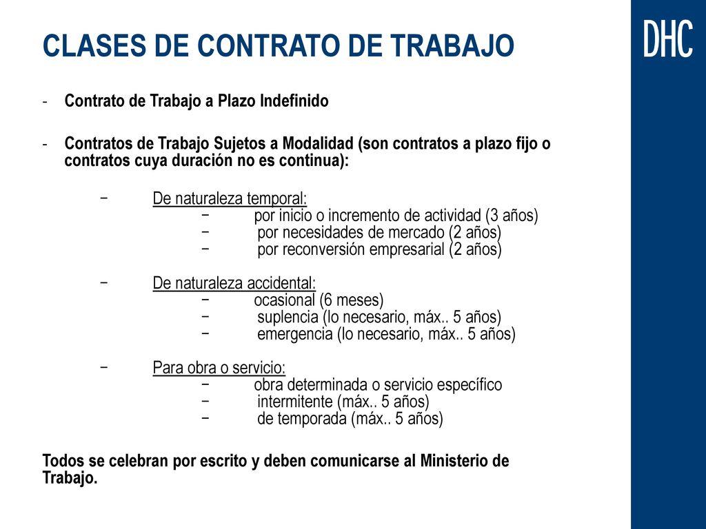 R gimen laboral peruano octubre ppt descargar - Oficina de trabajo temporal ...