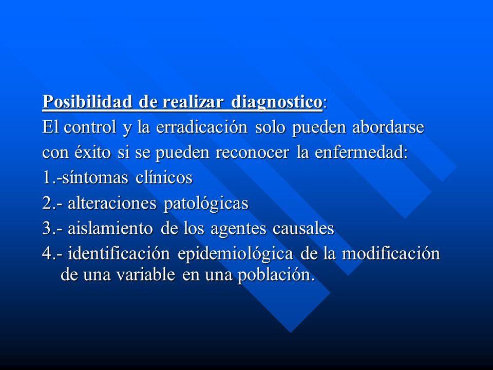 Posibilidad de realizar diagnostico: