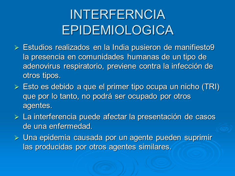 INTERFERNCIA EPIDEMIOLOGICA