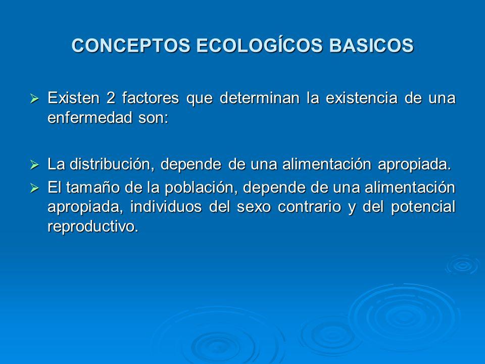 CONCEPTOS ECOLOGÍCOS BASICOS