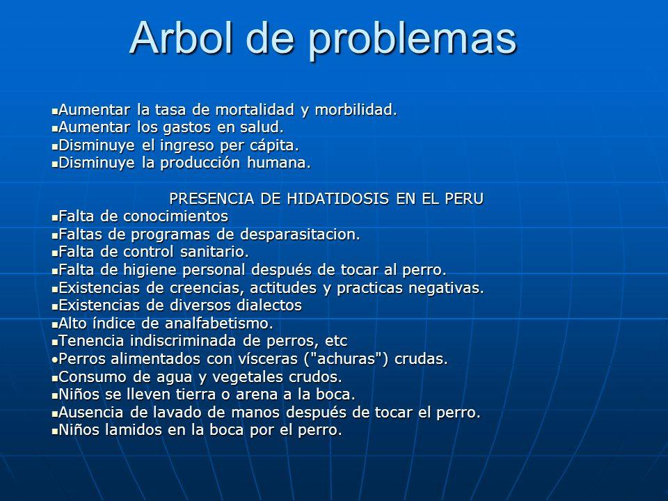 PRESENCIA DE HIDATIDOSIS EN EL PERU