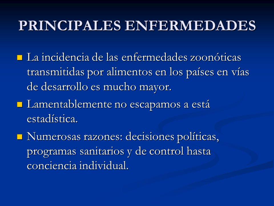 PRINCIPALES ENFERMEDADES