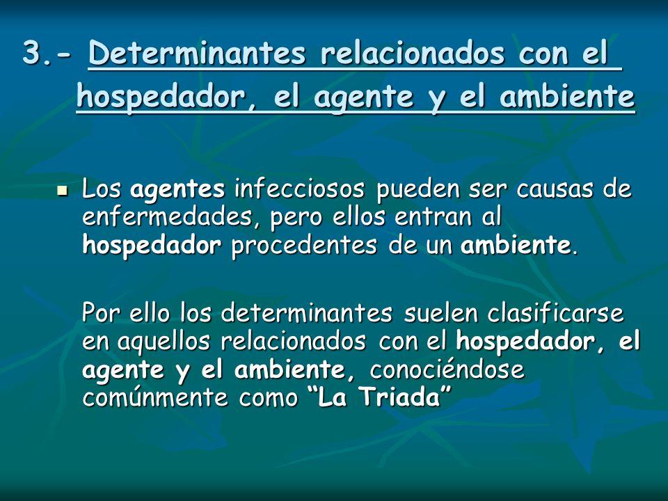 3. - Determinantes relacionados con el